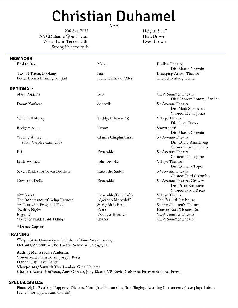 christian-duhamel-acting-resume